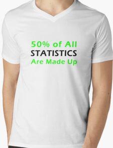 Statistics Made Up Mens V-Neck T-Shirt