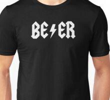 BEER - WHITE Unisex T-Shirt