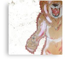 Hunting You Canvas Print