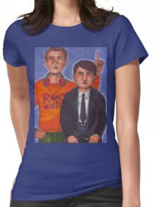 Mark & Jeremy Womens Fitted T-Shirt