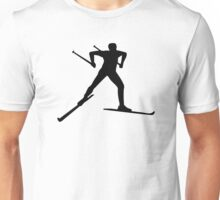 Cross country skiing Unisex T-Shirt