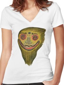 Face of nature Women's Fitted V-Neck T-Shirt