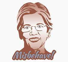 Misbehave! Elizabeth Warren Womens Fitted T-Shirt