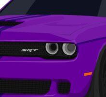 Purple Challenger Sticker