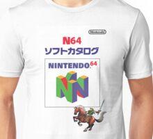 The Legend of Zelda Ocarina of Time 3DS Design Unisex T-Shirt
