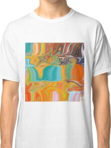 Happy Layers Abstract Classic T-Shirt