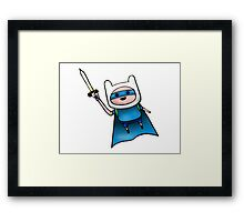 Superhero Guy  Framed Print
