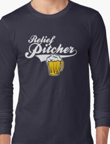 Beer - Relief Pitcher Long Sleeve T-Shirt