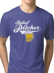 Beer - Relief Pitcher Tri-blend T-Shirt
