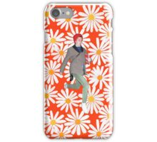 Michael Cera In a World of Daisies  iPhone Case/Skin