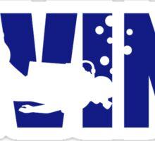 Diving Sticker
