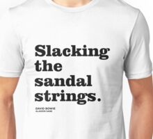 Misheard song lyrics - Aladdin Sane Unisex T-Shirt