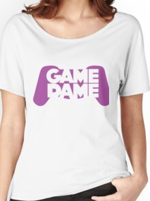 Game Dame - Violet Women's Relaxed Fit T-Shirt