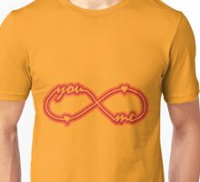 YOU & ME TILL INFINITY Unisex T-Shirt