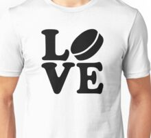 Hockey love Unisex T-Shirt