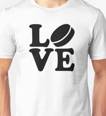 Hockey love Unisex T-Shirt