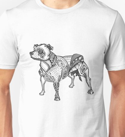 Staffie #2 Unisex T-Shirt