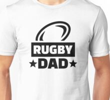 Rugby dad Unisex T-Shirt