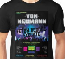 Von Neumann Architecture: Mock Band Tour Poster Unisex T-Shirt