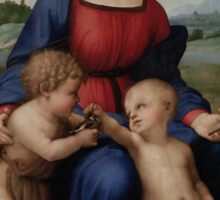 Raphael - Madonna of the Goldfinch  Sticker