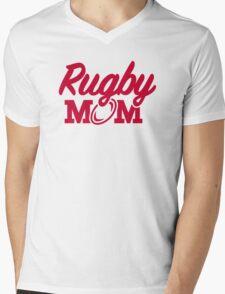 Rugby mom Mens V-Neck T-Shirt