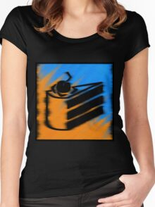 Orange and Blueberry Cake Women's Fitted Scoop T-Shirt