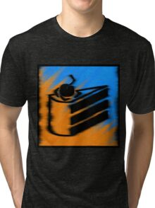 Orange and Blueberry Cake Tri-blend T-Shirt