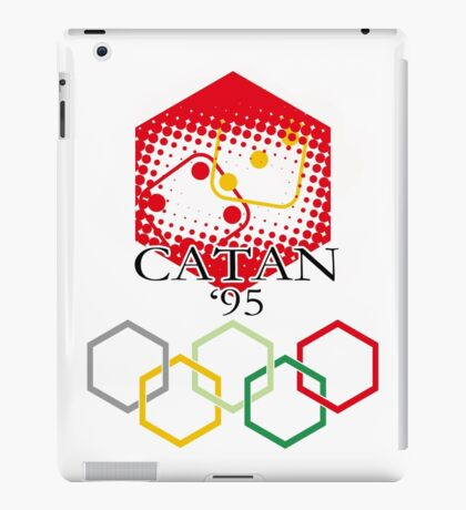 Catan Olympics iPad Case/Skin