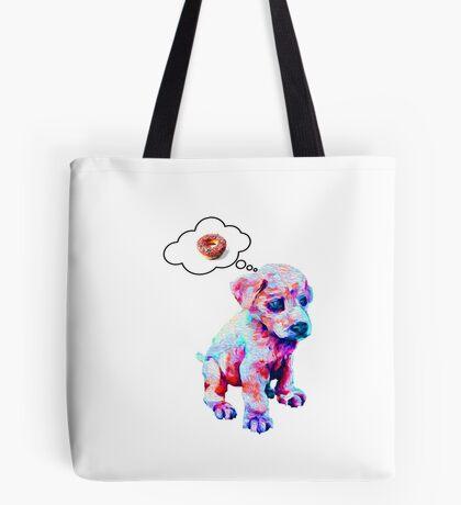 Rainbow Puppies Love Sprinkles Tote Bag