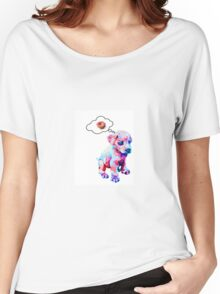 Rainbow Puppies Love Sprinkles Women's Relaxed Fit T-Shirt