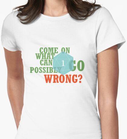 Critical Failure Womens Fitted T-Shirt