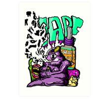 Shack vape Art Print