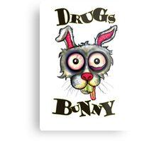Drugs Bunny Metal Print