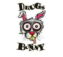 Drugs Bunny Photographic Print