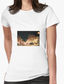 London landscape Womens Fitted T-Shirt