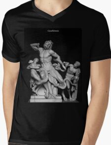 Laocoon and His Sons ( Gesaffelstein ) Mens V-Neck T-Shirt