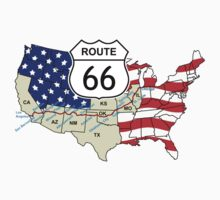 Route 66 One Piece - Long Sleeve