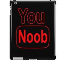 YouNoob (Classic) iPad Case/Skin