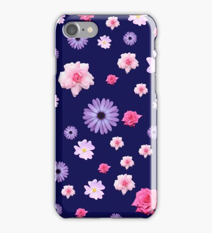 Mixed Roses and Other Flowers iPhone Case/Skin