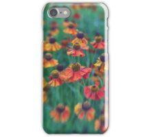Dancing flowers iPhone Case/Skin