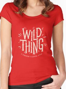 Wild Thing Women's Fitted Scoop T-Shirt