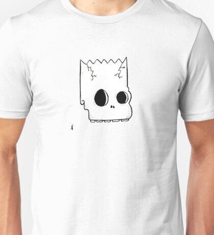 small bart skull Unisex T-Shirt