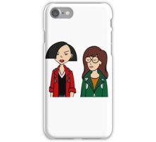 Daria and Jane iPhone Case/Skin