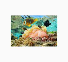 Sea anemone with fish anemonefish Pacific ocean Unisex T-Shirt