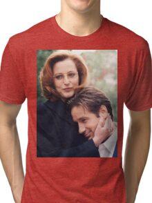 dana scully x files fox mulder Tri-blend T-Shirt