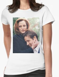dana scully x files fox mulder Womens Fitted T-Shirt
