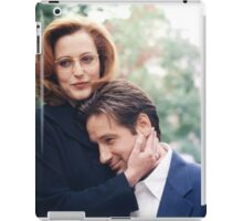 dana scully x files fox mulder iPad Case/Skin