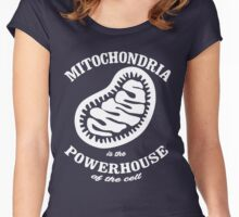 Mitochrondia - you know, it really IS the powerhouse of the cell! Women's Fitted Scoop T-Shirt