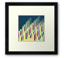 Blocks&Layers Framed Print
