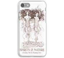 SPIRITS OF NATURE: Evening Mist & Morning Dew iPhone Case/Skin